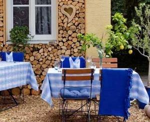 Biergarten Landhaus Lebert Hotel Restaurant bei Rothenburg