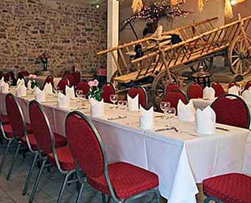 Hofscheune Landhaus Lebert Hotel Restaurant bei Rothenburg