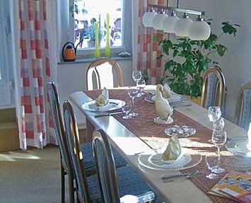 Tagungsraum - Landhaus Lebert Hotel Restaurant bei Rothenburg