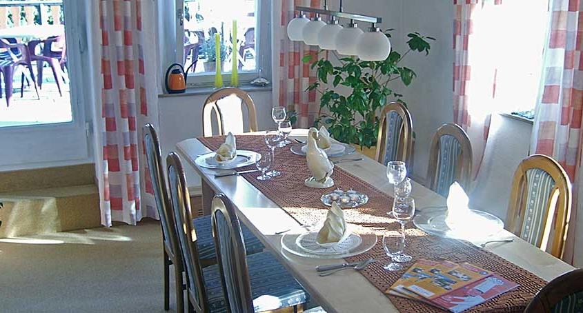 Landhaus Lebert Hotel Restaurant bei Rothenburg