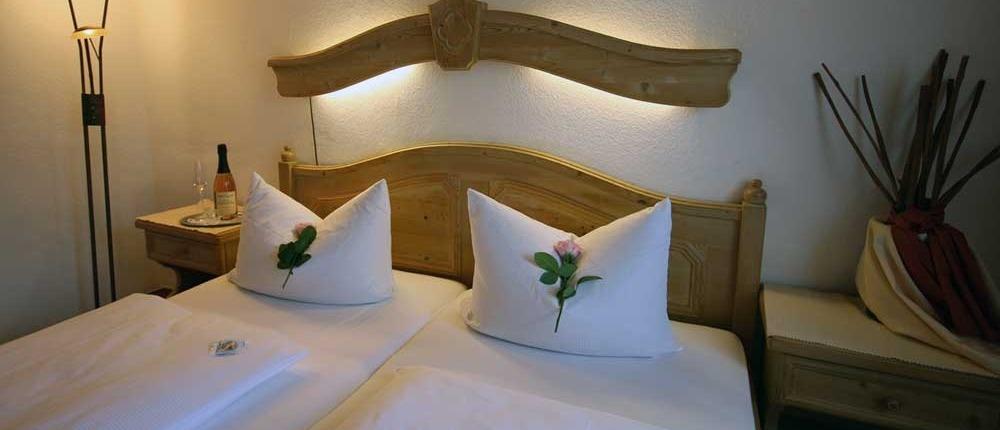 Zimmer Übernachtung - Landhaus Lebert Hotel Restaurant bei Rothenburg